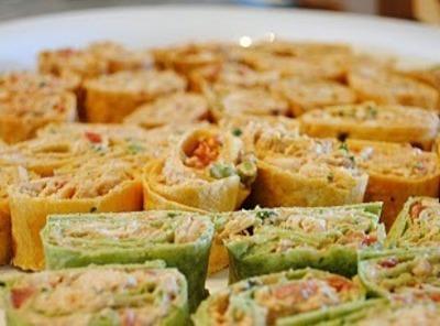 Spicy Chicken Tortilla Roll Ups Recipe