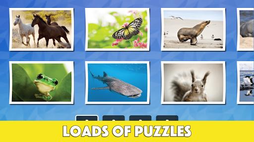 玩免費教育APP|下載儿童趣味动物智力拼图 app不用錢|硬是要APP