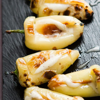 The Best Grilled Peppers.
