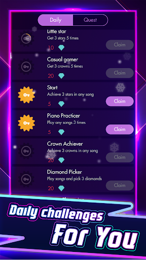 Piano Solo - Magic Dream tiles game 4 2.2.2 screenshots 4