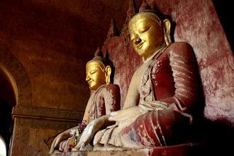 Photo: Year 2 Day 57 - The Twin Buddhas of  Dhammayan Gyi Temple