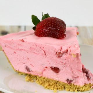 Strawberry Chiffon Pie.