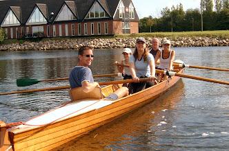 Photo: 2004 Instruktion i inrigger i Odense Roklub