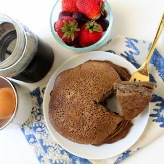 Green Banana Flour Pancakes.