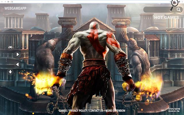 God Of War HD Wallpaper Theme