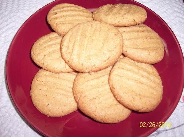 No Flour - Peanut Butter Cookies Recipe