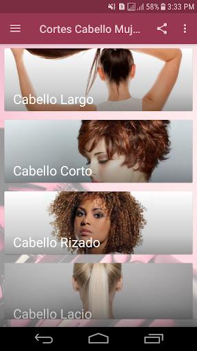 Cortes de Cabello Mujeres - Estilos 2019 1.0 Screenshots 1
