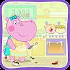 Baby Spiele für Mädchen: Kochschule