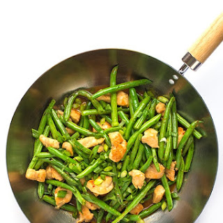 Chicken and Green Bean Stir-Fry.