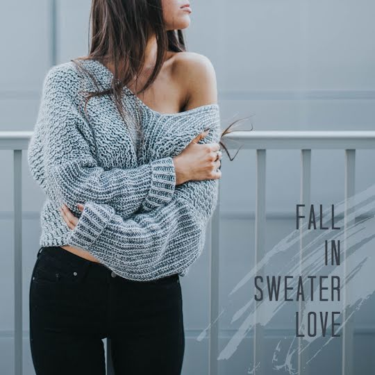 Fall In Sweater Love - Instagram Post Template