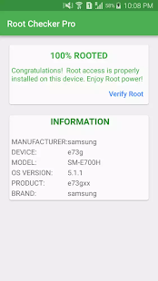 Root Checker Pro - SU Screenshot