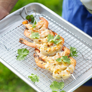 Cilantro Lime Grilled Shrimp.
