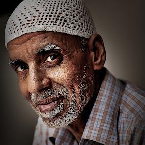 Atif by Leyon Albeza - People Portraits of Men ( senior citizen )