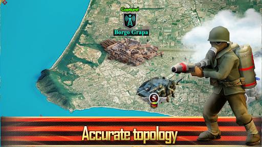 Frontline: Western Front - WW2 Strategy War Game screenshots 13