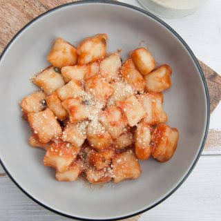 Vegan Gnocchi From Scratch.