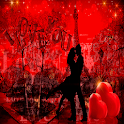 Red Love Heart LWP icon