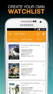 Viewster – Anime & Fandom TV- screenshot thumbnail