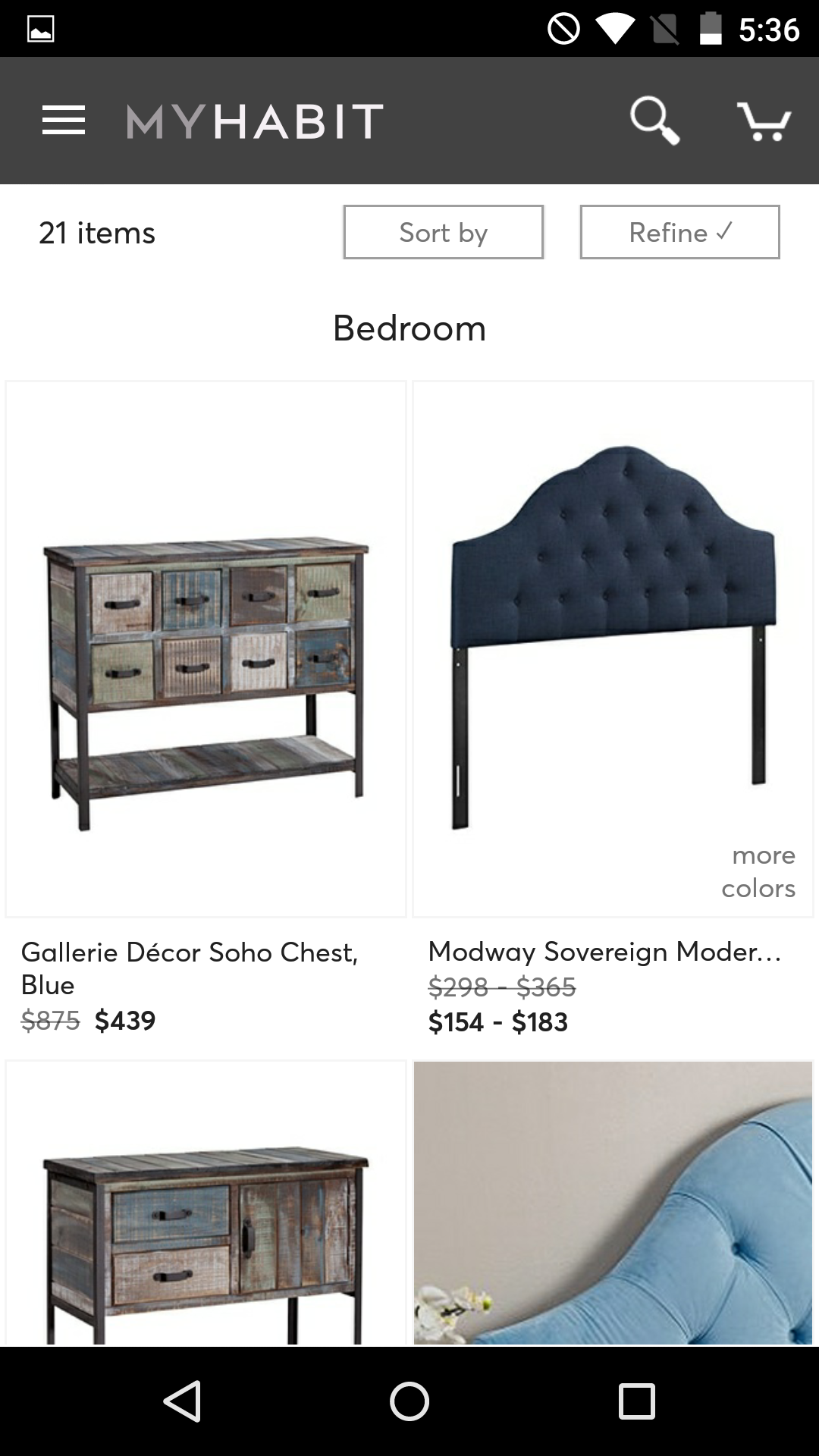 MyHabit – Designer Brands screenshot #5