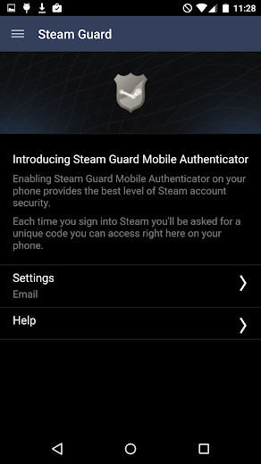 Screenshot 3 for Steam's Android app'