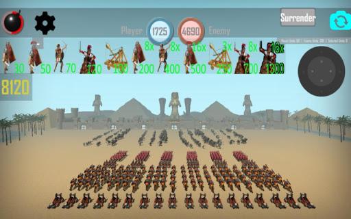 CLASH OF MUMMIES: PHARAOH RTS apkdebit screenshots 2