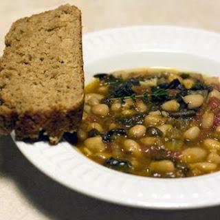 Rustic White Bean & Tomato Soup