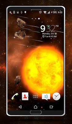 Sun Live Wallpaper - screenshot