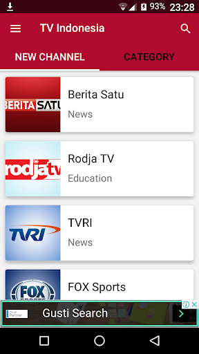 TV Indonesia - Semua Channel 1.0.0 screenshots 6