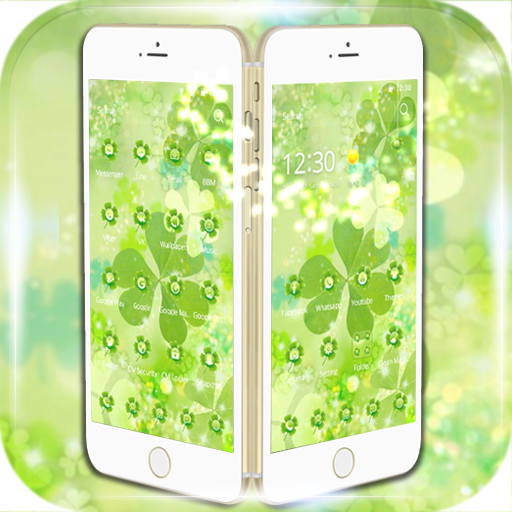 Green theme clover