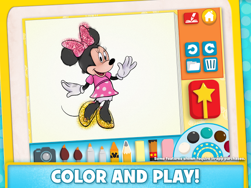 Disney Color and Play Apps (apk) baixar gratuito para Android/PC/Windows screenshot