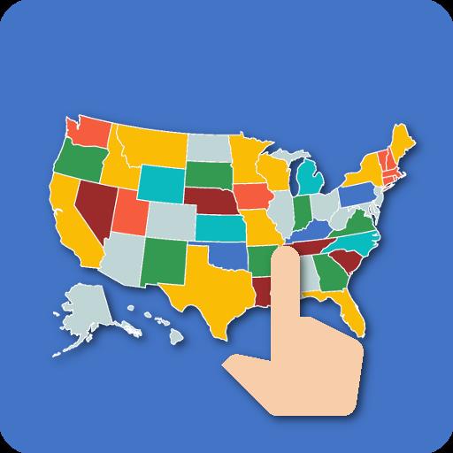 US Map Quiz - 50 States Quiz - US States Quiz