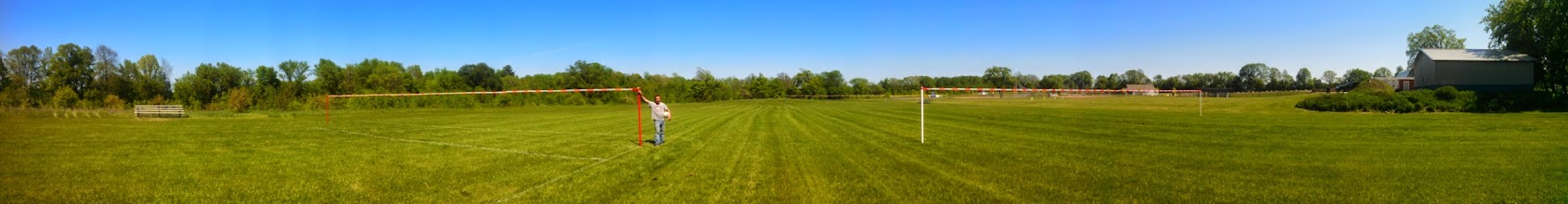 Photo: Panorama of the fields