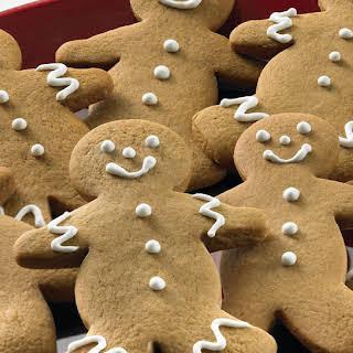 Gingerbread Men Cookies.