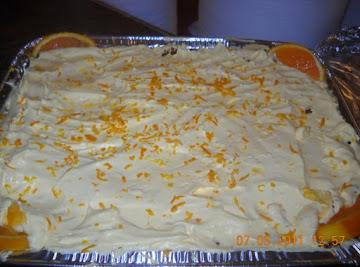 Grandmy's Sunshinesicle Orange Cheesecake Recipe