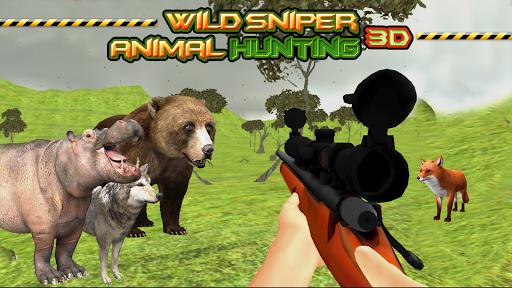 Wild Sniper Animal Hunting 3D