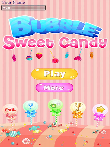 Bubble Sweet Candy