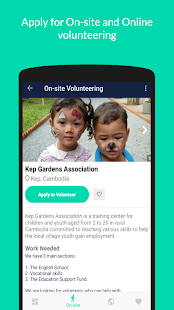 Volunteer Abroad - GivingWay - náhled