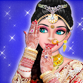 Indian Wedding Bride Dress up & Makeover