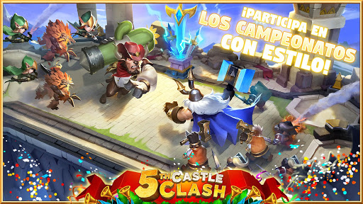 Castle Clash: Epic Empire ES 1.4.1 Screenshots 4