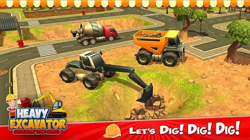 Heavy Excavator Crane City Construction Simulator 3.2 screenshots 5
