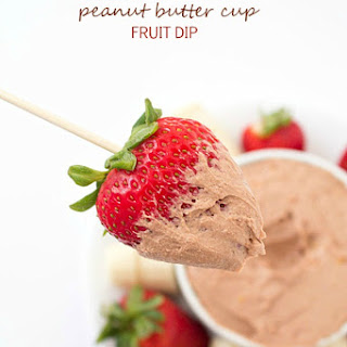 Peanut Butter Cup Fruit Dip