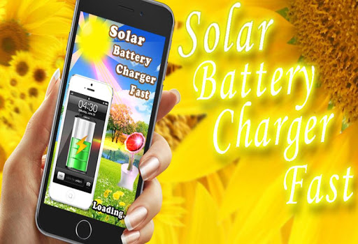 Solar Battery Charger Fast