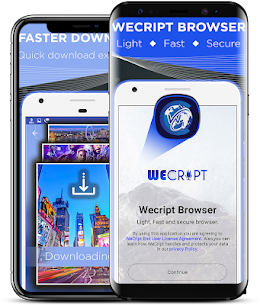 Wecript Incognito Browser App Download For Android and iPhone 1