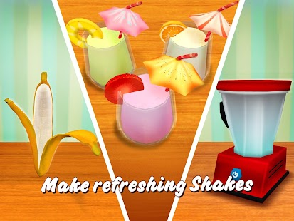 Virtual Chef Breakfast Maker 3D: Food Cooking Game Screenshot