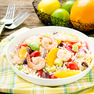 Citrus Shrimp Couscous Salad