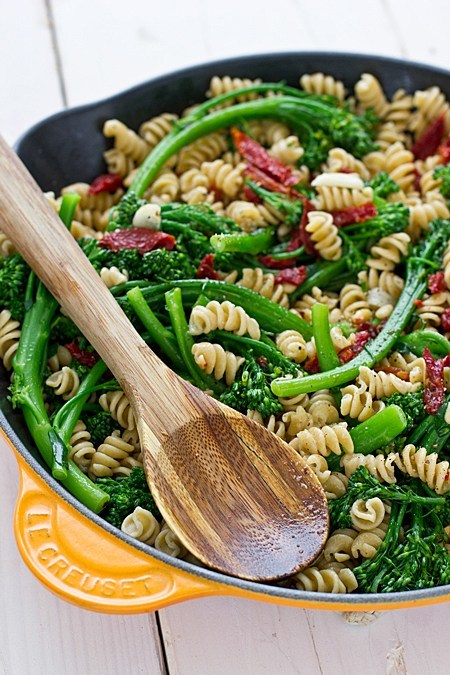 Rotini with Broccolini and Sun-Dried Tomatoes