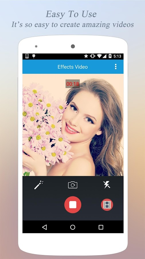 Effects Video - Filters Camera- screenshot