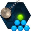 Hexasmash Physics Puzzle icon
