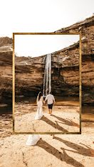 Wedding Waterfall - Photo Collage item