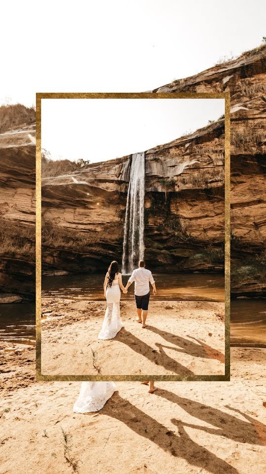 Wedding Waterfall - Wedding Template