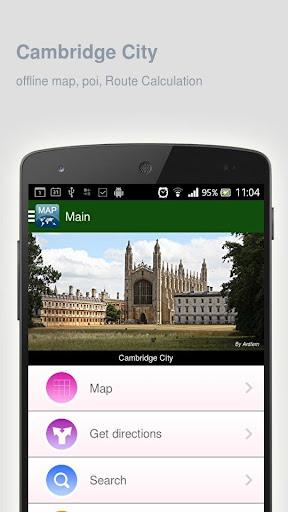 Cambridge City Map offline